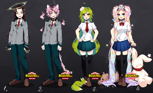 BNHA AUCTION ADOPTABLES [CLOSED]