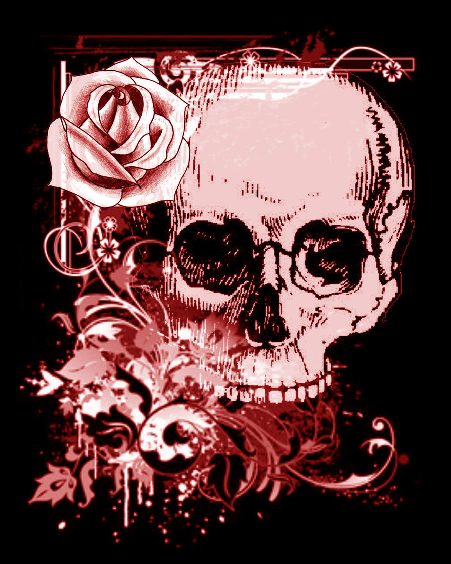 Skull And Roses Kitchen Aid Mixer Cover