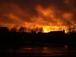 Fire Sky by helloxkelci