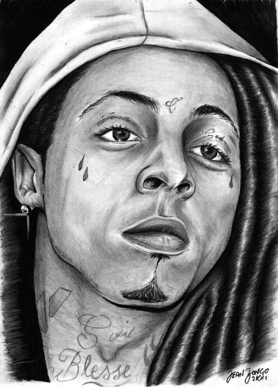 Pencil Drawings Of Lil Wayne LIL WAYNE by Johnnyk23...
