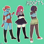 Cute Adopts [OPEN] [2/3] by meroko1201