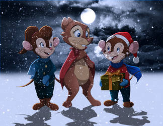 A Very Brisby Christmas by BrisbyBraveheart