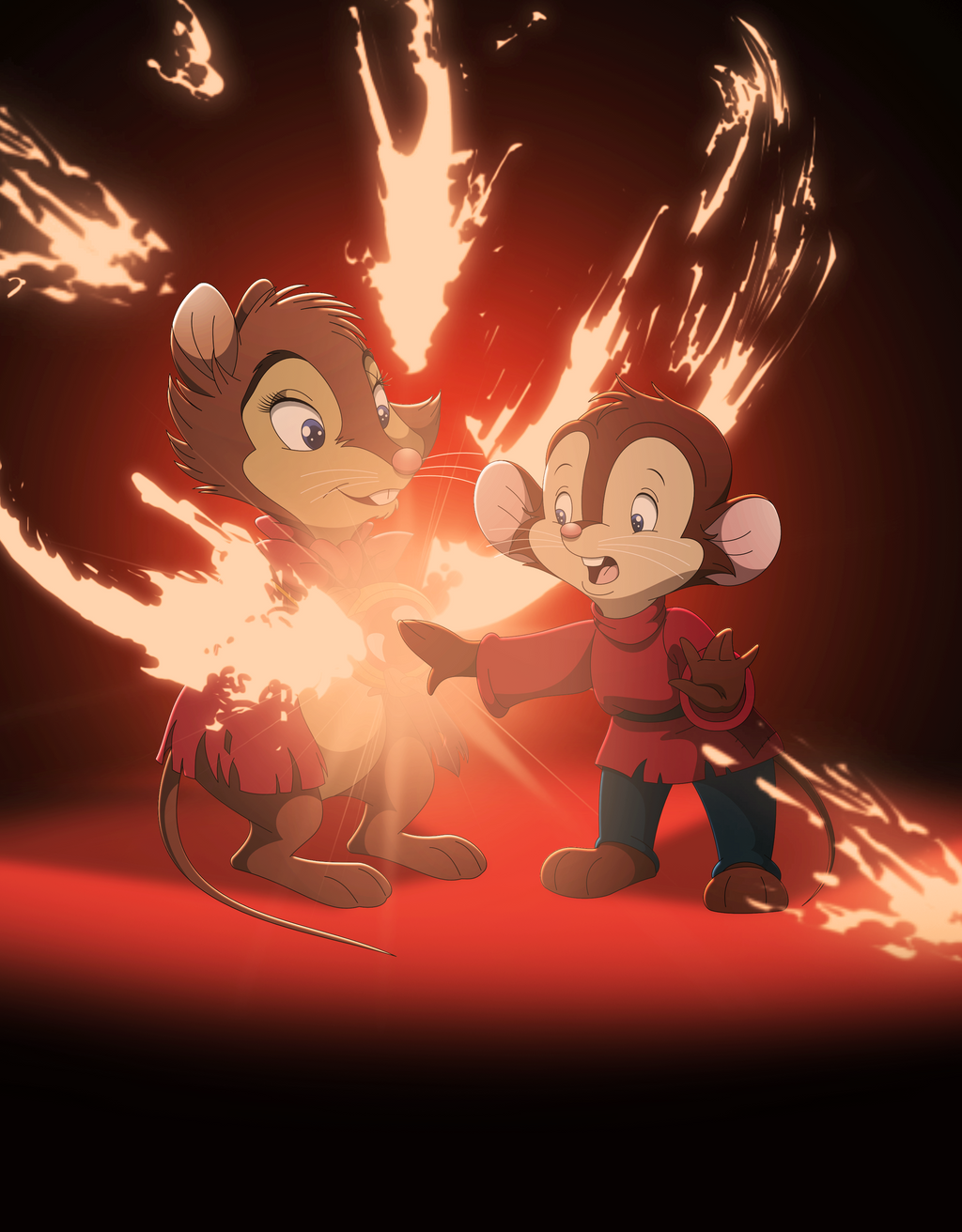 Fievel's True Courage by WhiteLionWarrior