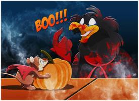 NIMH: Jeremy's Halloween Scare