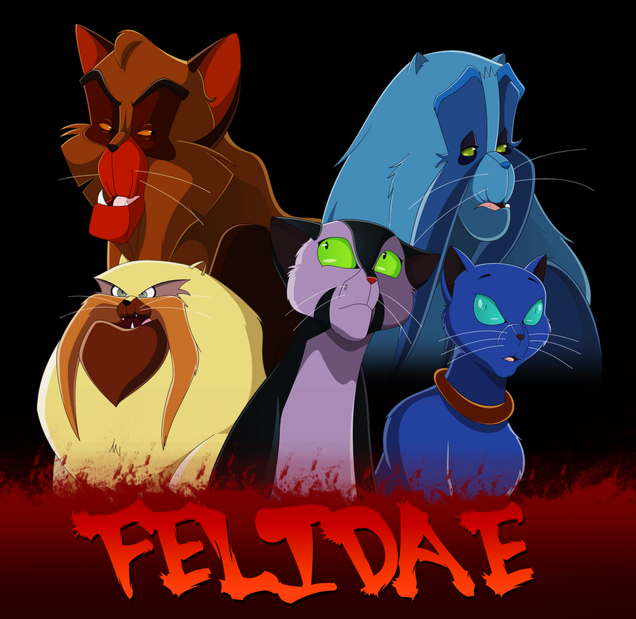 Felidae by WhiteLionWarrior