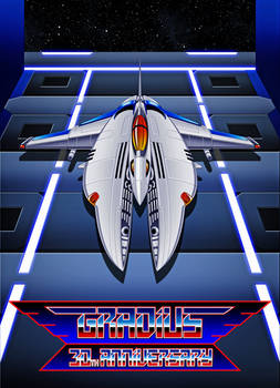 Gradius Legacy Alternate Cover