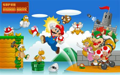 30 Years of Super Mario Bros. by BrisbyBraveheart