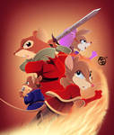 Warriors of Thorn Valley x Redwall Cover 3