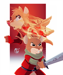 Warriors of Thorn Valley x Redwall Cover 5