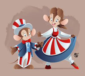 An American Tail: 4th of July!