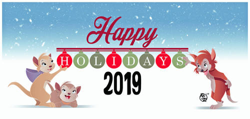 Happy Holidays 2019 by BrisbyBraveheart