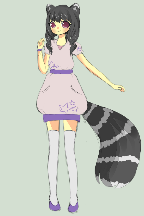 Lemur Girl for Setachan by BananaBread9112