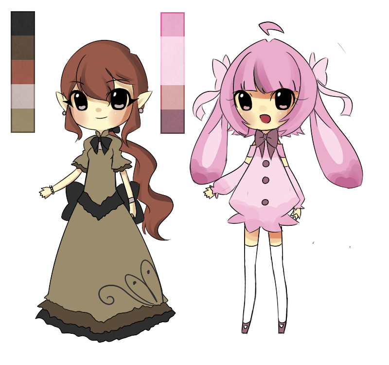 Palette Adopts for Pintkin by BananaBread9112