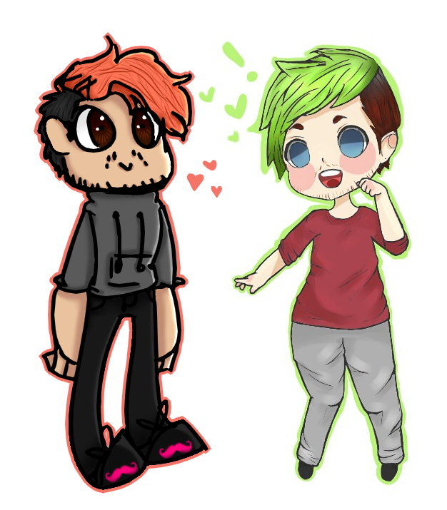 chibi markiplier and jacksepticeye - photo #23