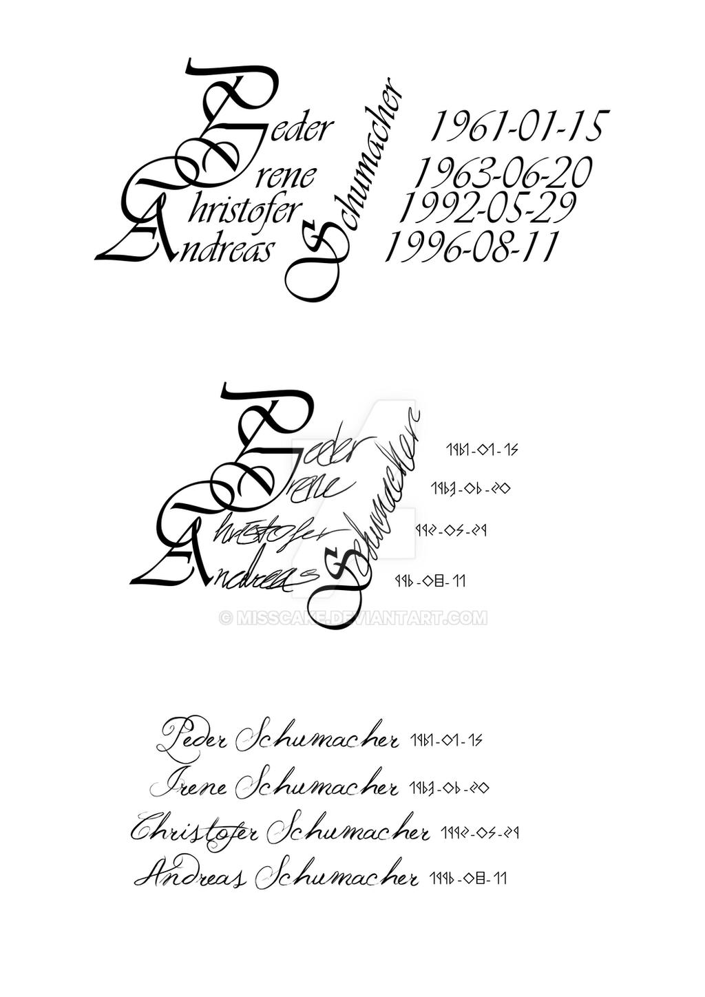On Family Tattoo Text By Misscake Watch Designs Interfaces