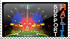 Support Haiti Stamp by PyroDemi