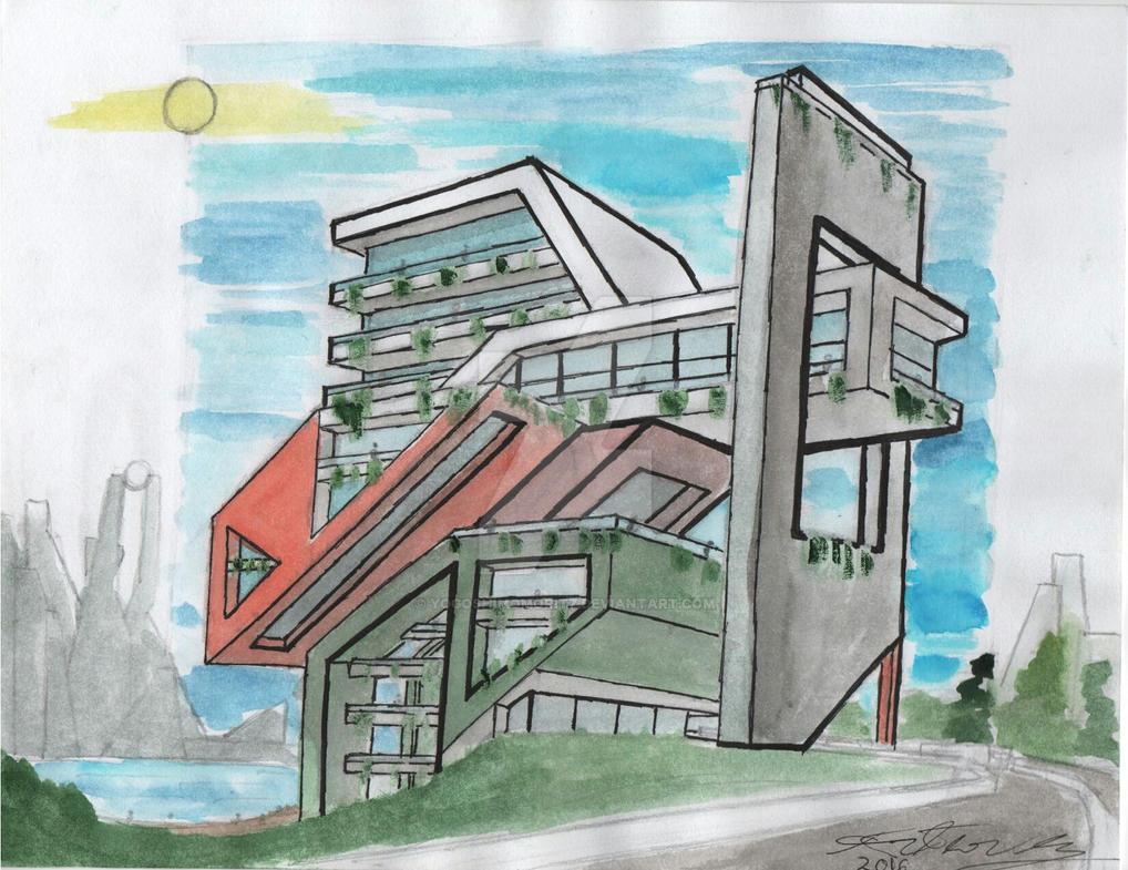 Modern Angles by YogoshimoMoritz
