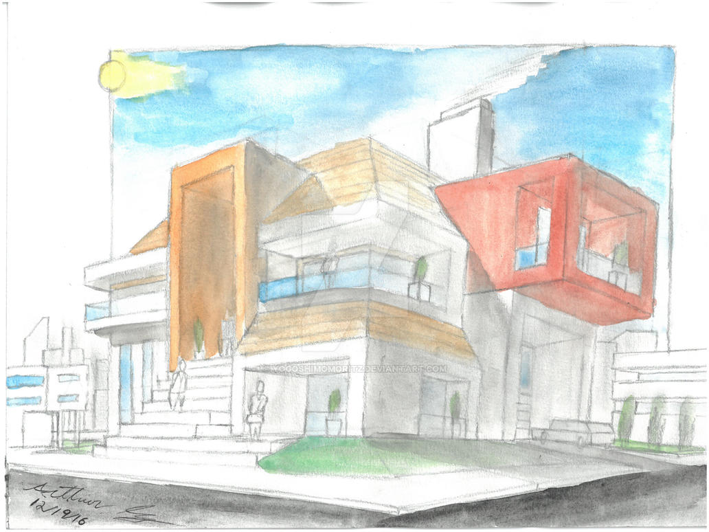 Modern home by YogoshimoMoritz