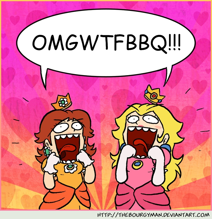 Omg Wtf Bbq Omgwtfbbq by masterluigi452 Omg Wtf Knock First