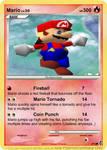 Mario Card N64