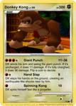 Donkey Kong Card N64