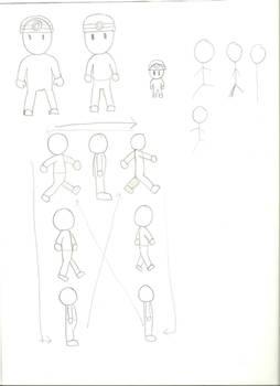 Flash Game Character Draft