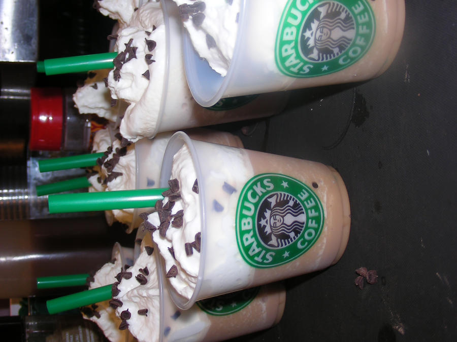 Starbucks Mini Frappuccino's by ticklemeimsexy