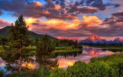 Oxbow Grand Teton National Park Wyoming