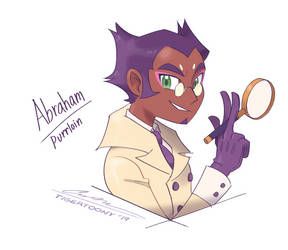 Detective Abraham by TigerToony