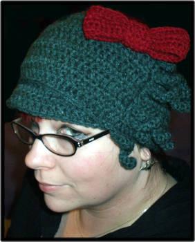 Hello Cthulhu Crochet hat