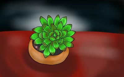 sketch challenge succulent