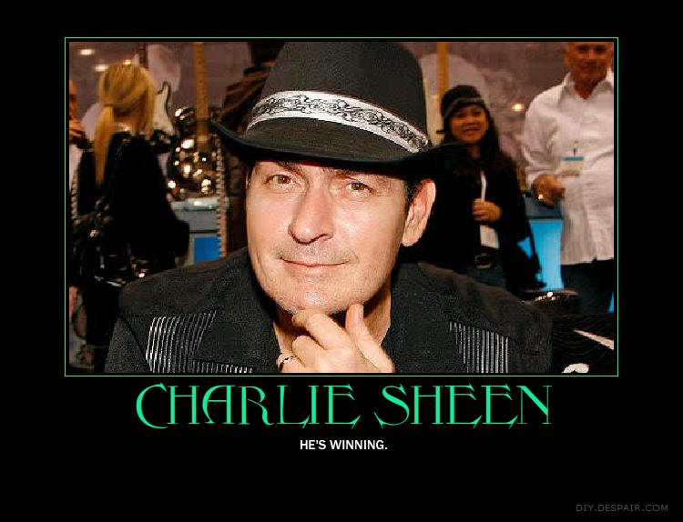 Sheen is Winning by UxieSweetie