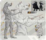 [CLOSED] Adopt - White Rhinoceros by TimeFlin