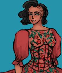 Dragon Age: Evelyn Halamshiral  Dress Top