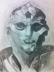 Thane Krios  by guen20