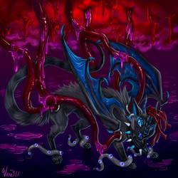 Hypnagogia: Dark Kace by v-e-r-a