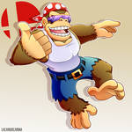 Funky Kong - Smash Ultimate by PUPPERCASE
