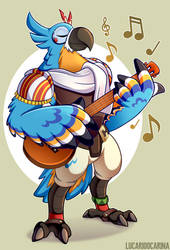 the accordion can't be the ONLY thing he plays by LucarioOcarina