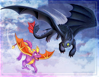 Dragon Pals by LucarioOcarina