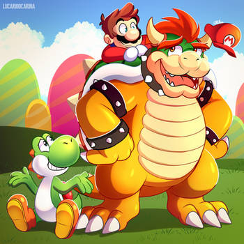 Mario Day by LucarioOcarina