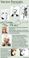 Vector Portraits PK Style