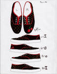 Shoe Design - Cherry Dot