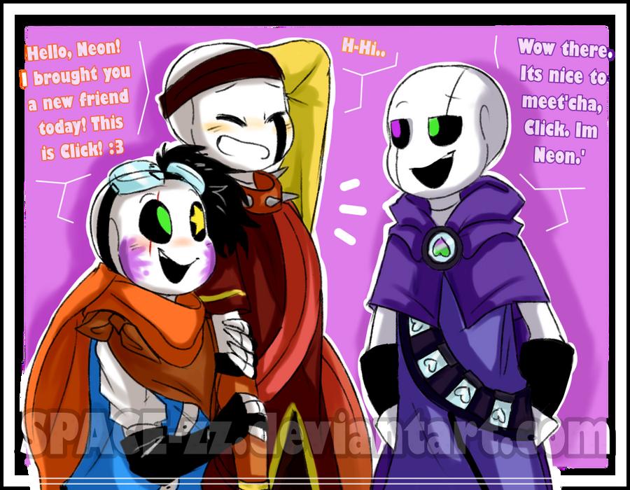 New friend  :UNDERTALE OC:  by SPACE-zz on DeviantArt