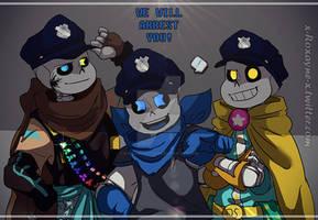 The Star Police AKA Star Sanses .:UT AU:.