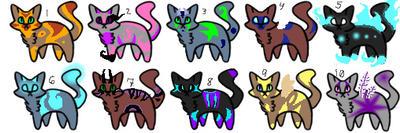 Cats by NexisCatzus