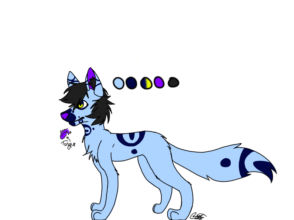 Wolf Dog Thing Adoptable OPEN by NexisCatzus