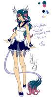 Mythic Sailor Moonstone Kirin by Lumaea