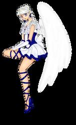 SS: Radiant Sapphire Swan by Lumaea