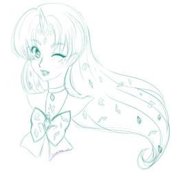 Sailor Diamond Unicorn by Lumaea