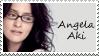 Angela Aki Stamp by JackdawStamps